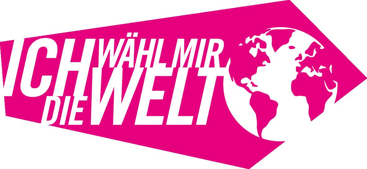 Ich wähl mir die Welt Logo
